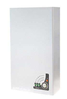 Отопительный электрический котел ЭВАН Warmos Classic 27 квт с механическим управлением, 7 ступеней мощности, c насосом, расширительным баком и предохранительным клапаном