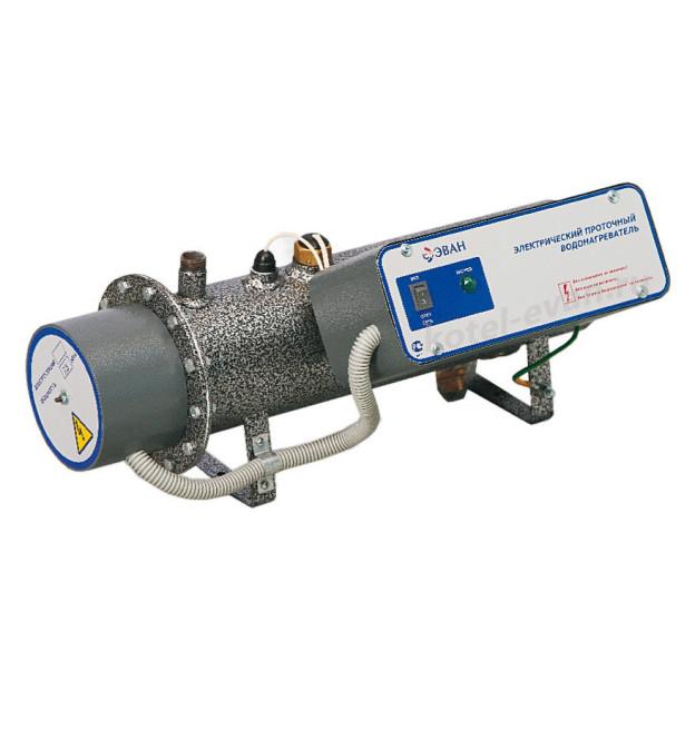 Электрический проточный водонагреватель ЭПВН мощностью 12 кВт, напряжение 380 В, 300 литров в минуту, разрешено продолжительное использование