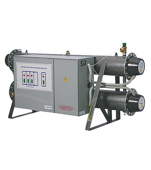Электрический проточный водонагреватель ЭПВН 42Б Профессионал, мощность 42 кВт (24+18), напряжение 380 В, 1050 литров горячей воды в час, разрешено продолжительное использование