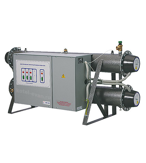 Электрический проточный водонагреватель ЭПВН 72Б Профессионал, мощность 72 кВт (30+24+18), напряжение 380 В, 1800 литров горячей воды в час
