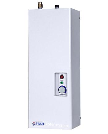 Электрический проточный водонагреватель Эван В1 мощностью 6 кВт, напряжение 220 В, 120 литров в час, плавное регулирование температуры